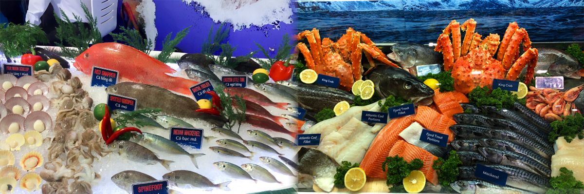 Some seafood products
